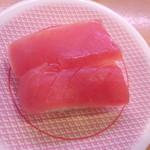 かっぱ寿司 - まぐろ105円(2014.03.11)