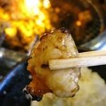 あみやき亭 - 料理写真:ホルモンミソ/塩各ランチ210円