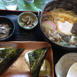 24805245 - 鍋焼きうどん定食