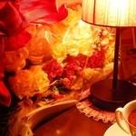 ジャズカフェ ベイシー - テーブルの上
