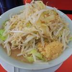ラーメン影郎 - ラーメン並 野菜ちょいマシ、ニンニク適度