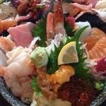 味の匠 大名庵 - 海鮮丼。