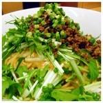 ささのは - 汁なし坦々麺(≧∇≦)、2012年4月28日。