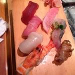 寿司まさ/ふじおか - 料理写真:おまかせ握り