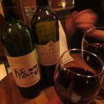 CAMP TOKYO - ワインは国産にこだわる