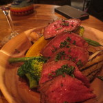 CAMP TOKYO - 和牛のグリル、赤ワインソース