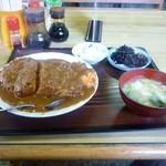 丸山食堂 - チキンカツカレー