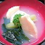 24809884 - 椀物 蛤真薯 長崎県産若筍 若布