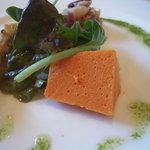 ベルドゥーラ - 赤色と黄色のパプリカのムース
