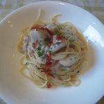 ベルドゥーラ - 里芋を使ったスパゲッティ