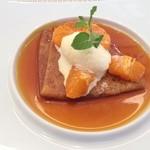 ビストロ ダイア - オレンジのクレープシュゼット