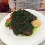 ビストロ ダイア - ランチ定番のステーキ