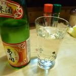 大須亭 - 2014.03 冷酒は岩手盛岡の純米酒『あさ開』