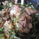 大島 - ミニチャーシュー丼¥200のアップ