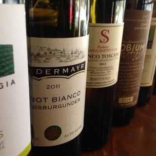 イタリア政府公認のオーナーソムリエがお好みのワインをお薦め!