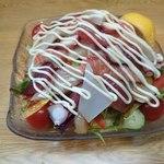 おりも - 海鮮サラダ (これでハーフサイズです☆)