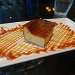 SUZU CAFE - 焦がしキャラメルの濃厚チーズケーキ