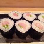 鮨処 竜敏 - ネギトロ細巻き