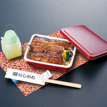 鰻いしかわ - うなぎ弁当 鰻3/4本 3200円 お茶付き