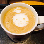 タリーズコーヒー - さりげなくラテアートしてくれた♥︎♥︎♥︎