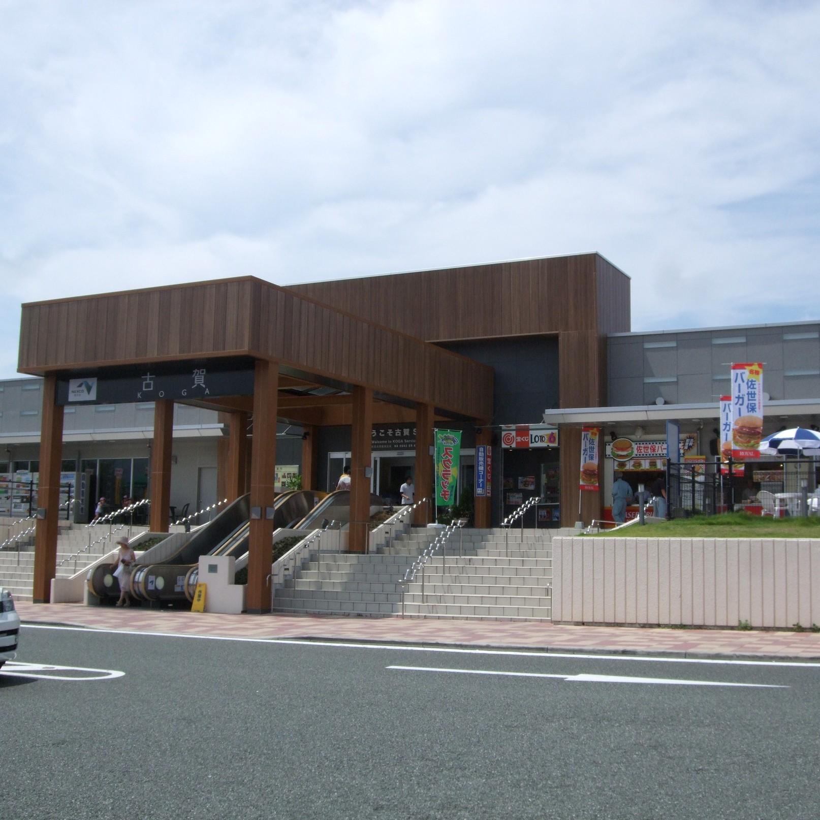 古賀サービスエリア(上り線)屋台特設コーナー