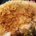 さくら肉天 - 特大豚ロース肉の天ぷら