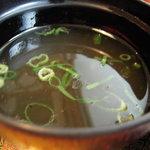 あたか飯店 - アッチアチのスープ