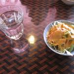 カバブハウス - セットのサラダ