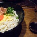 麺匠の心つくし つるとんたん - 釜玉のおうどん (¥680)