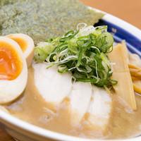 麺屋 むら田 - 味玉豚骨しょうゆラーメン