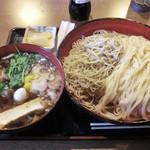 麺処まると - 肉汁あいもり大(1050円)_2014-03-13