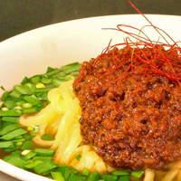 台湾ラーメン大吉 - 台湾ラーメン:激辛旨ミンチ・鶏ガラスープが極太平打ち縮れ麺と絶妙に絡み、辛さの中にも旨みがたっぷり