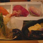 249297 - 寿司&天ぷらのアップ