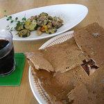 アシエンダ・カフェ - ガレットの食事
