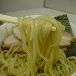 タンポポ - 麺が以前のつけ麺の麺と変更されています