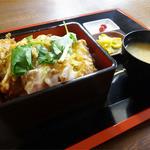 桜麟 - 料理写真:カツ丼(800円)