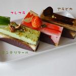ルセットショコラ - ケーキ色々(各380円)