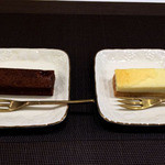 バンフの森 - チョコスティック・チーズスティック