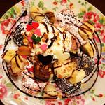 ミーズパンケーキ - チョコレートスペシャルパンケーキ