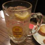純平 - ハイボール レモンが効いています