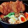 ○宿めんてんてん - 料理写真:とんがら坦坦パーコー麺 小ライス付 800円