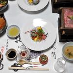 旅館大橋 - 夕食