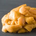 串かつ にし川 - 『生ウニ』  磯の香りと濃厚な旨みと甘みが絶品。紋甲いかの創作串揚げに使っています。