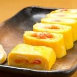 日向屋 - フワッと明太子の卵つつみ 450円