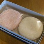 しばたや菓子店 - 料理写真:紅白もち