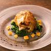 稲垣 - 料理写真:旬の野菜との調和が生きる『ひな鶏の香草ロースト』