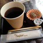 琉球菓子処 琉宮 - コーヒー300円