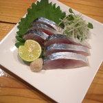 串かつ 丸田 - 市場で良い鯖があればシメサバなんかもあります。