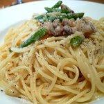 トラットリア ダ ジャコモ - 白金豚と緑野菜のラグーソース