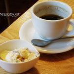 ラ・フーガス - デザートとコーヒーまでついて1000円